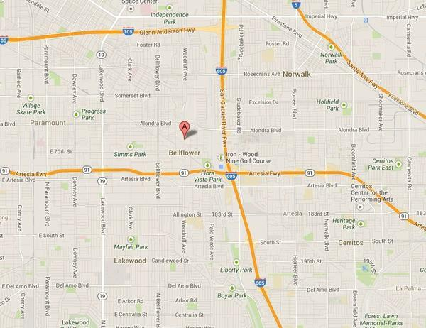 The location of an officer-involved shooting early Sunday morning.