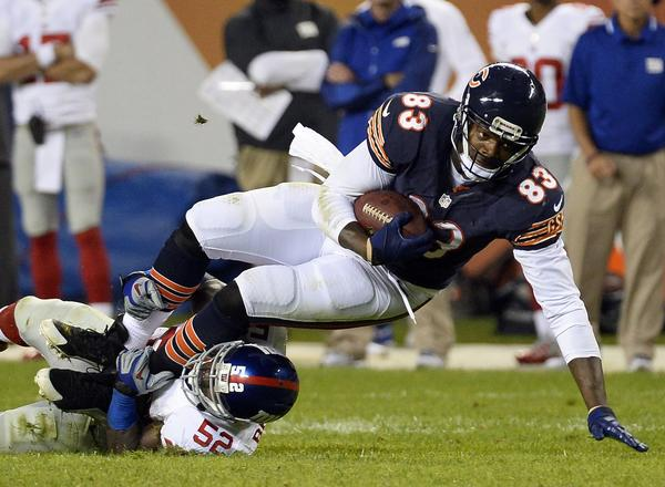 Martellus Bennett is putting up numbers not seen by a Bears tight end since Mike Ditka.