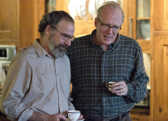 Saul Berenson and Sen. Lockwood on 'Homeland'