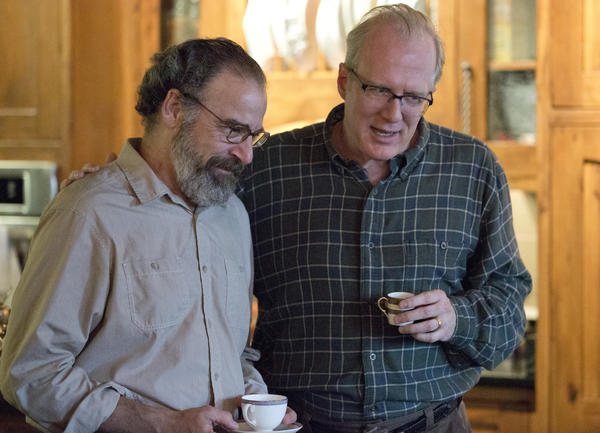 "On ""Homeland,"" Saul Berenson (Mandy Patinkin), left, learns during a duck hunting trip that Sen. Andrew Lockhart (Tracy Letts) will be nominated as the next CIA director."
