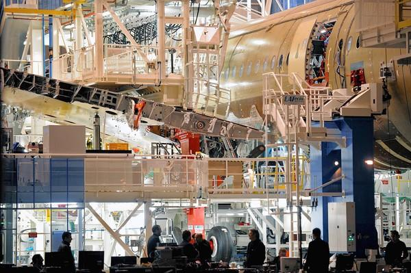 "In May, Wesco landed what it called a ""milestone agreement"" with French aircraft manufacturer Airbus to supply fasteners and hardware components to several production facilities. Above, an Airbus plane under construction in France."