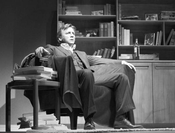 "Daniel Craig as Robert in Harold Pinter's ""Betrayal,"" directed by Mike Nichols, at the Barrymore Theatre in New York."