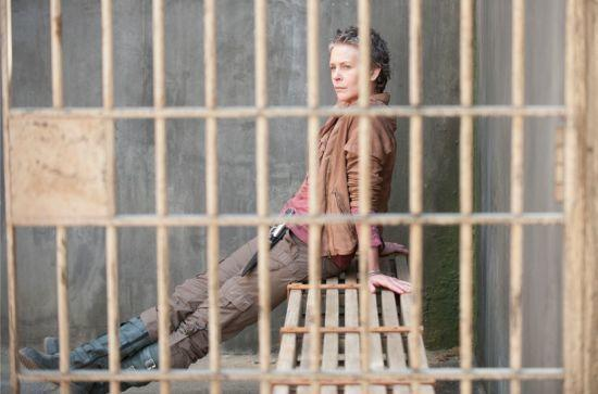 "Melissa McBride plays Carol in ""The Walking Dead."""