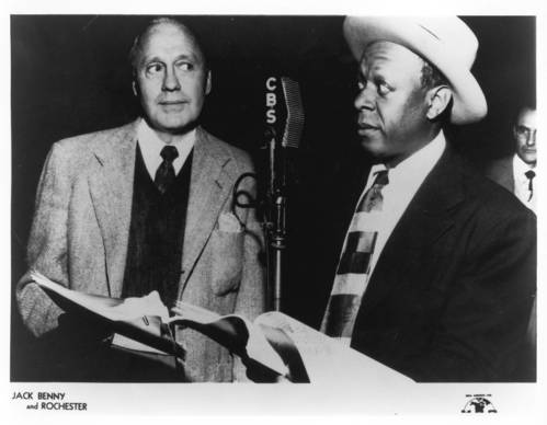 "Jack Benny, left, and Eddie ""Rochester"" Anderson on ""The Jack Benny Program."" The famed comedian held the No. 2 spot with his long-running weekly series."