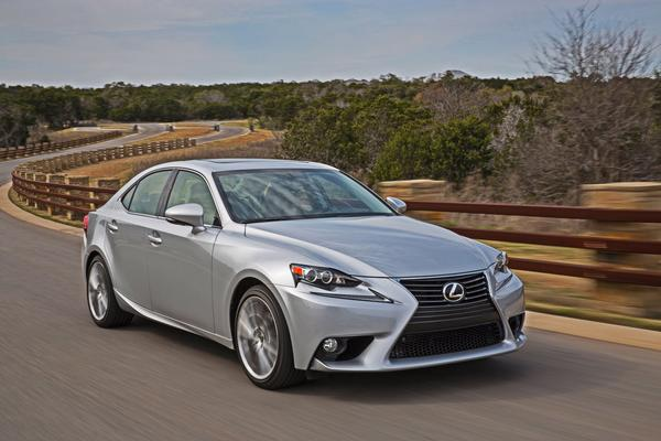 A 2014 Lexus IS 250 sports sedan. Lexus was the top ranked brand in Consumer Reports' 2013 auto reliability study.