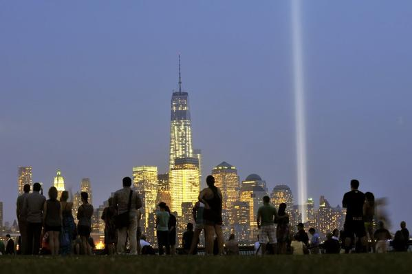A view of One World Trade Center in New York.