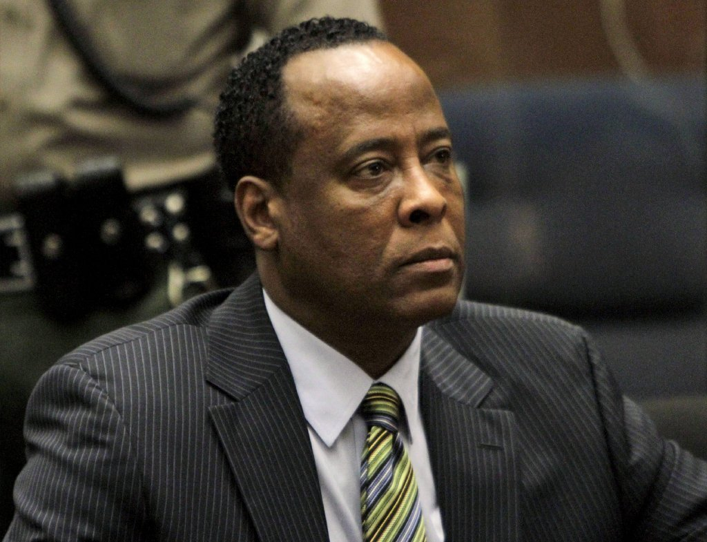 conrad murray released from jail la times