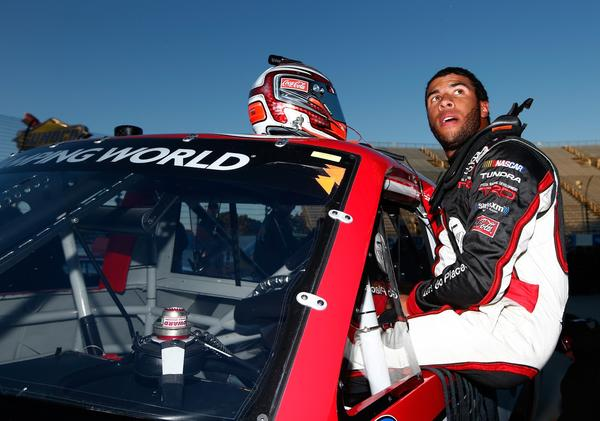 Darrell Wallace Jr. became only the second African American driver to win a NASCAR national series event with his victory Saturday in the truck race at Martinsville.