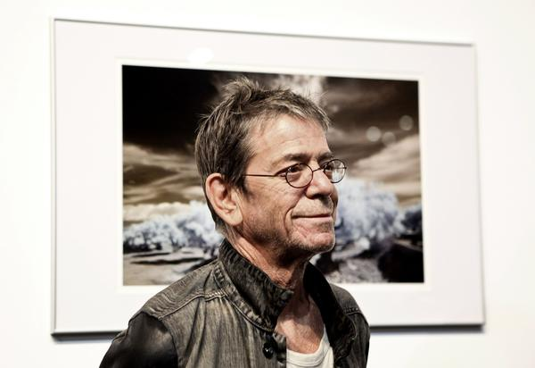 Lou Reed in 2010.