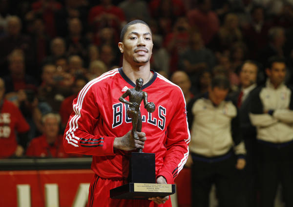 Bulls guard Derrick Rose is more than just an NBA MVP to Chicago.