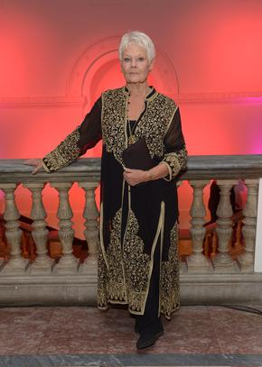 """Judi Dench attends the afterparty for the gala screening of """"Philomena"""" in London."""