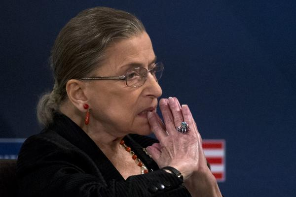 Justice Ruth Bader Ginsburg revealed that she had second thoughts about a voting rights decision.