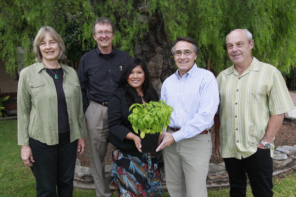 Ann Christoph, Greg Vail, Belinda Ann Deines, Bob Borthwick, Rob Zur Schmiede and Anne Johnson (not pictured) make up the Landscape and Scenic Highways Element Committee, which seeks to include issues such as streetscape, heritage trees and native plants into the city's general plan.