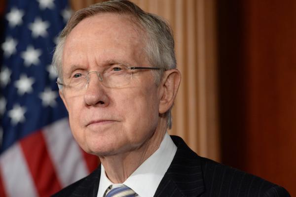Senate Majority Leader Harry Reid.