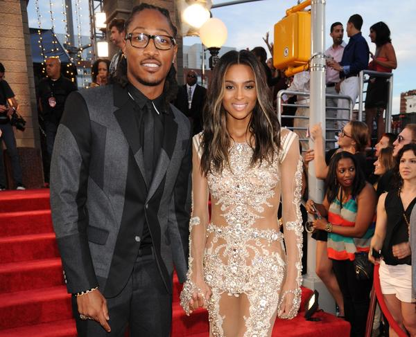 Singer Ciara, right, and music producer Future, shown in August, are engaged to be married.