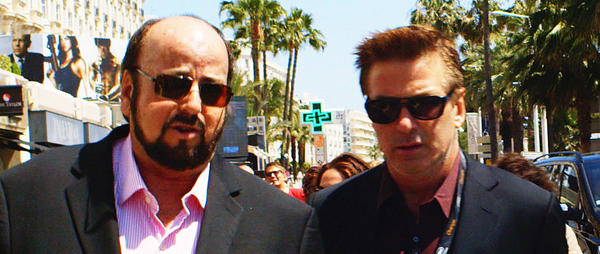 "Filmmaker James Toback, left, and Alec Baldwin in the HBO documentary ""Seduced and Abandoned,"" which airs on HBO on Oct. 28, 2013."