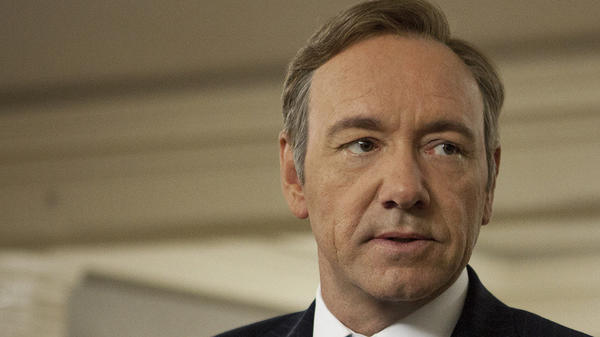 "Kevin Spacey appears in a scene from the Netflix show ""House of Cards."""
