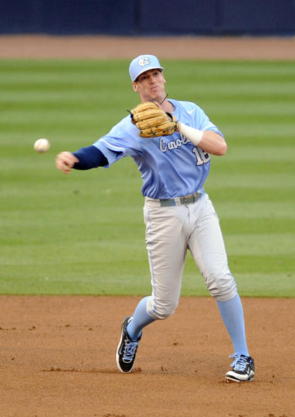 Former North Carolina and current Miami Marlins third baseman Colin Moran was selected to the West Division roster in Saturday's Fall Stars Game.