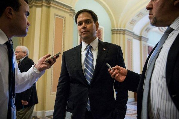 Sen. Marco Rubio (R-Fla.) is in a box of his own making on immigration reform.