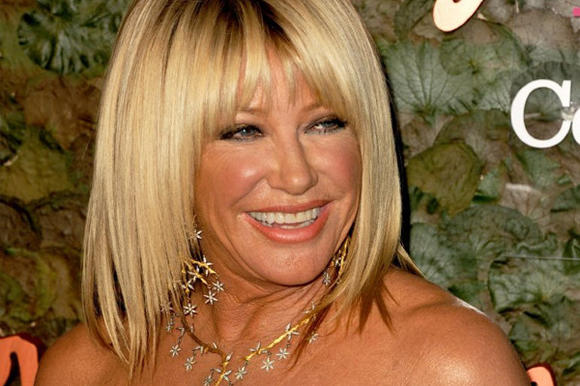 TV star Suzanne Somers is calling