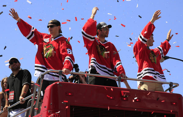 "The movie ""17 Seconds"" takes an in-depth look at the Blackhawks' 2013 Stanley Cup celebration, including the parade in Grant Park."