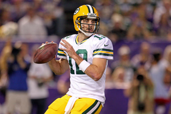 Quarterback Aaron Rodgers and the Packers are still the team to beat in the NFC North.