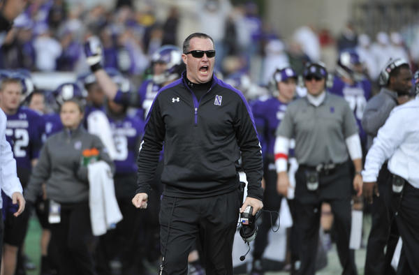 It's time for Northwestern head coach Pat Fitzgerald to get more out his team.