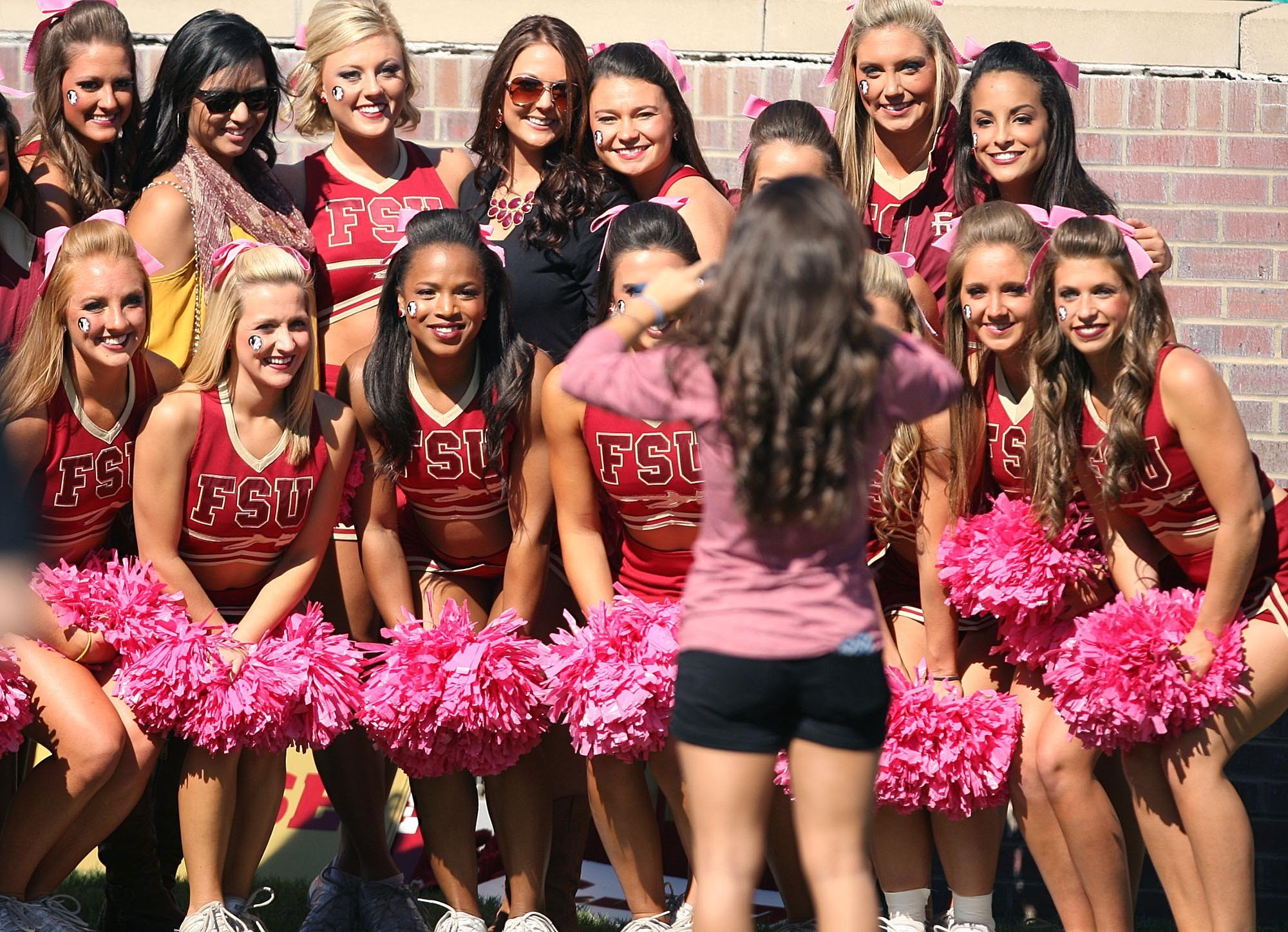 Photos: Florida State football fans and cheerleaders - FSU vs. North Carolina State
