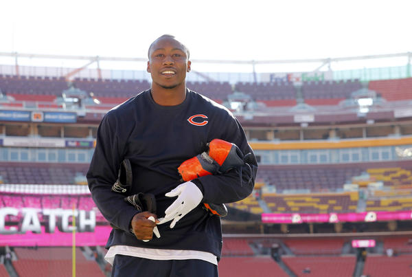 Bears receiver Brandon Marshall took the high road after being criticized by the Redskins Brandon Meriweather.