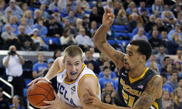 UCLA forward Travis Wear has been diagnosed with appendicitis.