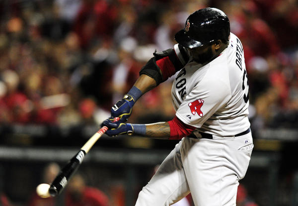 David Ortiz has been wearing out the Cardinals through the first five games of the World Series.