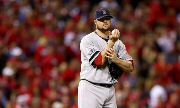 Boston Red Sox starter Jon Lester came out a winner in his pitching duel with the St. Louis Cardinals' Adam Wainwright in Game 5 of the World Series on Monday.