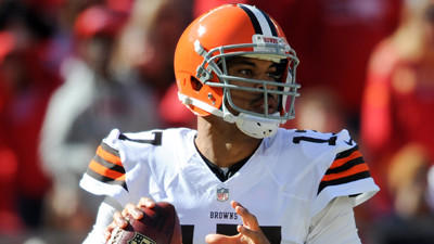Browns sticking with Jason Campbell under center against Ravens