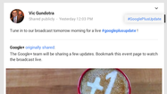 Here's how to tune in live to watch Google's announcement event