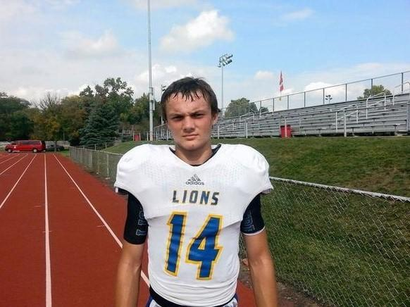 Lyons quarterback Tom Fiedler's 5-yard touchdown run Friday against Proviso West proved to be the difference.