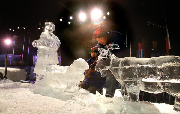 <b>Pictures:</b> Through the years: ICE! exhibit  at Gaylord Palms - ICE! at Gaylord Palms, 2013