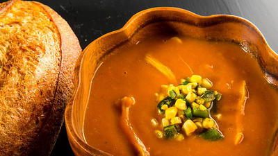 Scare up some pumpkin soup