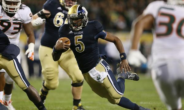 Quarterback Everett Golson says he plans to return to Notre Dame in January after being suspended for cheating.