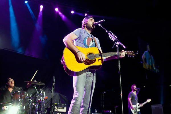 Country singer Thomas Rhett performs during Jason Aldean's 8th annual Susan G. Komen Concert for the Cure at New Orleans Arena Oct. 25, 2013 in New Orleans, Louisiana