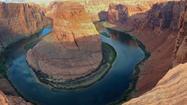 Panoramic views of travel destinations