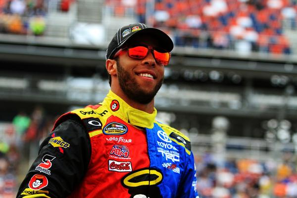Darrell Wallace Jr., driver of the #54 Camping World/Good Sam Toyota, made an impact with his first Truck Series win.