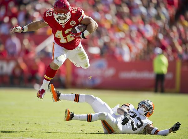 Fullback Anthony Sherman and the Chiefs are still flying high.