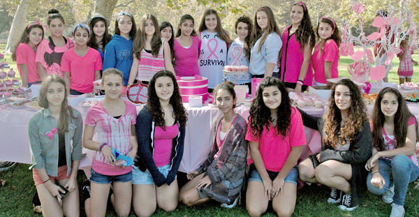 Glendale girls baked goodies and invited family and friends to enjoy the morning in Verdugo Park on Sunday while raising funds to help cancer patients who participate in the Glendale Adventist Free Cancer Support Services.