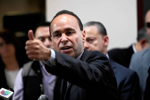 "U.S. Rep. Luis Gutierrez, D-Ill., said he feels ""very, very optimistic"" about passing immigration reform."