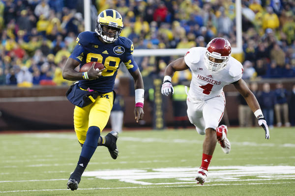 Michigan quarterback Devin Gardner has left plenty of defenses behind this season.