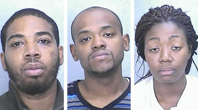 Last week police charged three Newport News people in Terry Emmanuel Swilling's death: (L-R) Carlos Emmanuel Manson Jr., 30; Jonas Lawrence Rodgers, 29; and Tansy Shavone Sulton, 28.