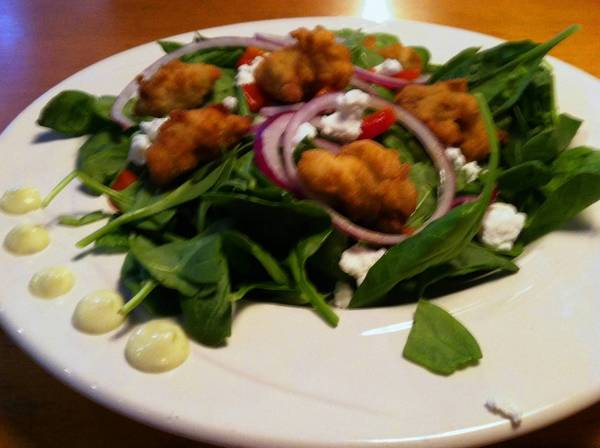 Food find: Oyster Salad at Harpoon Larry's Fish House & Oyster Bar