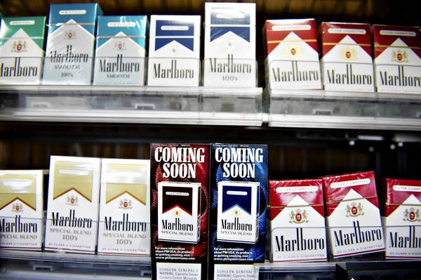 Cigarette brands.