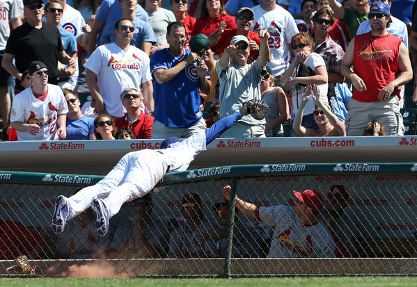 Cubs first baseman Anthony Rizzo didn't get the nod in Gold Glove voting.