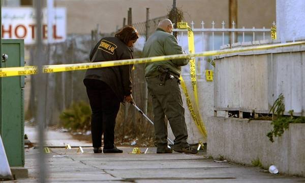 An investigation is under way after a shooting near Hollywood Park in Inglewood left one suspect dead and two sheriff's deputies injured. The shooting occurred about 12:01 a.m. in the 3900 block of West Century Boulevard after a routine traffic stop, according to the Los Angeles County Sheriff's Department and media reports.